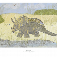 Dinosaur (Triceratops picture)