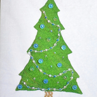 SALE Christmas tree card