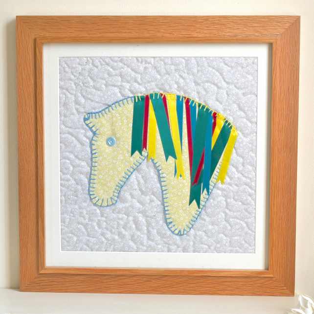 SALE Children's pony picture - horse art UNFRAMED