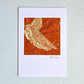 Father's Day card - textile keepsake