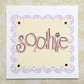 Handmade Birthday card - personalised name or number