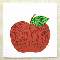 Apple birthdaycard