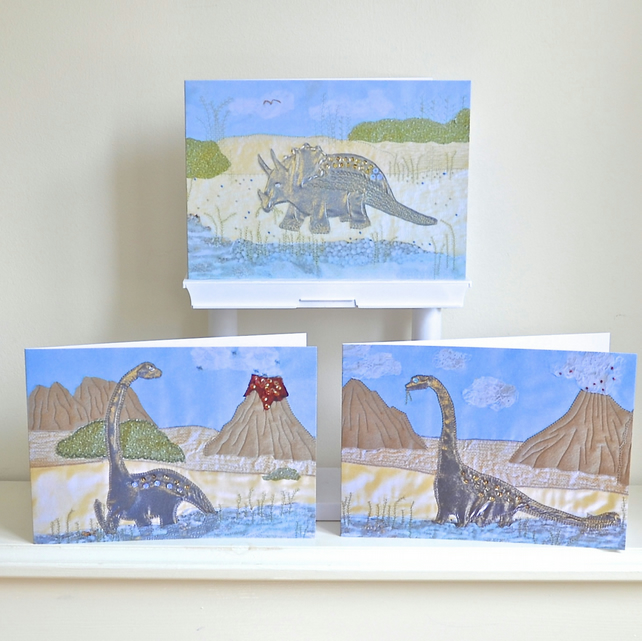 Birthday card Dinosaur pack 3