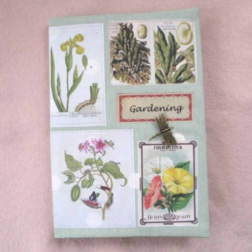 A5 - Gardening Vintage Inspired Covered Journal