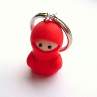 Red Ninja Keyring