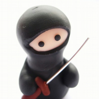 Ninja Figure with Sword