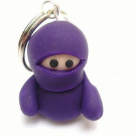 Purple Ninja Key Ring