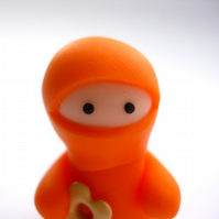 Little Orange Ninja with Heart