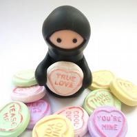 Custom Ninja with Loveheart