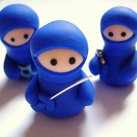 Set of 3 Blue Ninja Companions