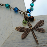 Titania Dragonfly necklace