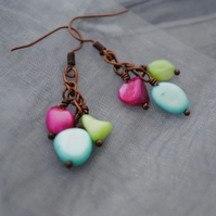 Rivershell earrings
