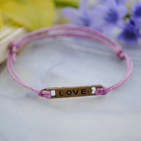 Friendship Bracelet-Violet Love
