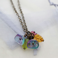 Titania flowers necklace
