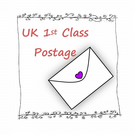 UK 1st Class Postage for fizzi-jayne makes.... Orders