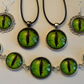 Stunning Green Dragon's Eye Jewellery Set  Special Offer Free Key ring