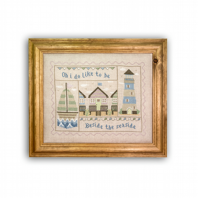 Beside The Sea cross stitch kit