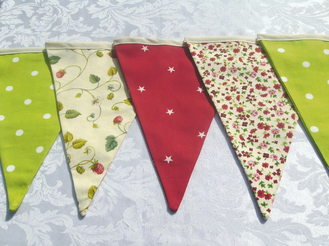 Strawberry Shortcake Wedding Bunting