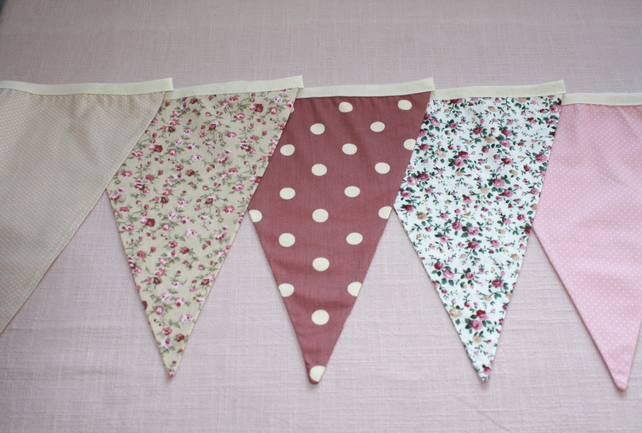 Summer Pudding Wedding Bunting