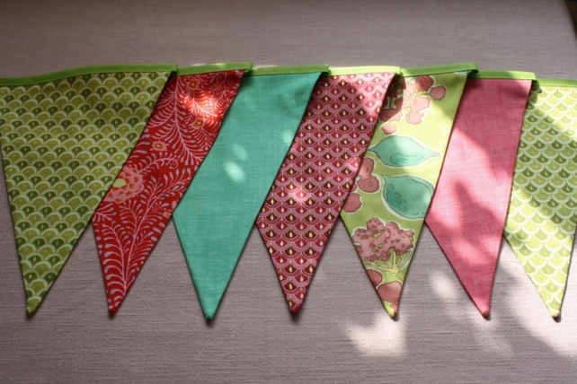 Sherbet Pips Wedding Bunting