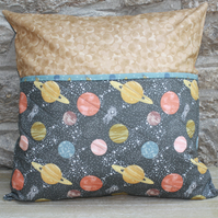 Planets book pillow