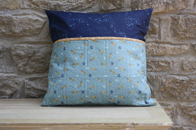 Little Rockets Book Pillow