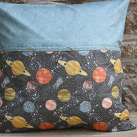 Planets and constellations book pillow