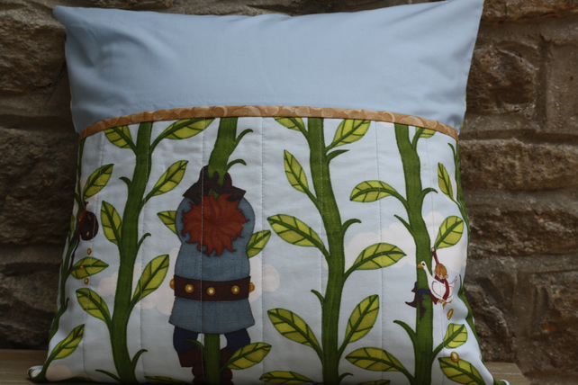 Jack and the Beanstalk book pillow