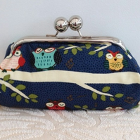SALE Owls Clutch bag
