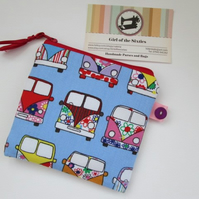 SALE Coin Purse with Camper Vans