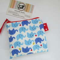 SALE Elephants Coin Purse