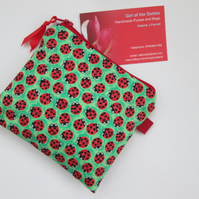 Ladybirds Coin Purse