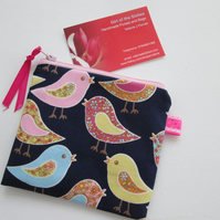 Birds  Coin Purse