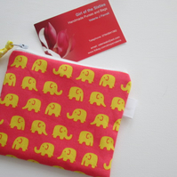 HALF PRICE SALE Little Elephants Purse