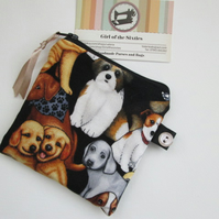 SALE Dogs Coin Purse
