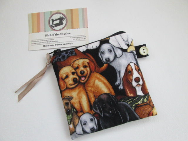Dogs Coin Purse