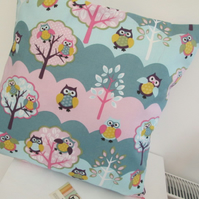 Owls Cushion Cover