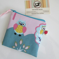 Owls Coin Purse