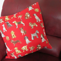 Dogs Cushion