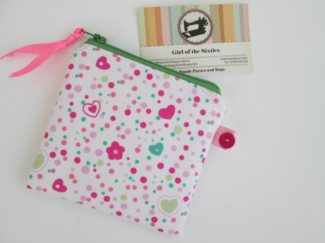 Pretty Pink Coin Purse