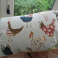 Hens Cushion