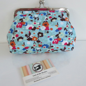 Clutch Bag  Make up Purse