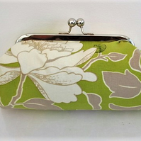 Amy Butler Lime Clutch bag