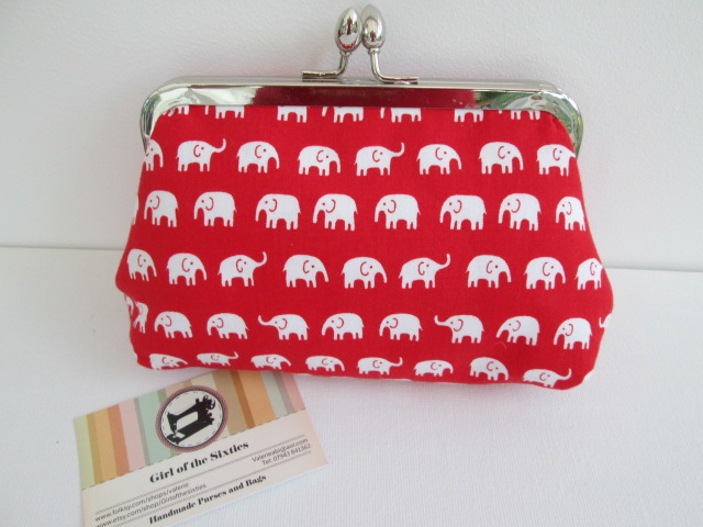 SALE Clutch Bag  Make up Purse