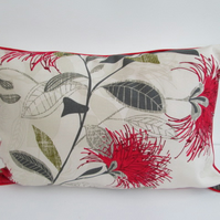 New Zealand Pohutakawa Flower  Cushion