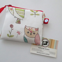 SALE Owls Coin Purse
