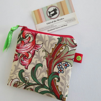 Pretty Floral  Coin Purse