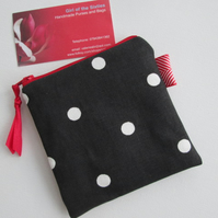 SALE Spotty  Coin Purse