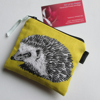 SALE Hedgehogs  Coin Purse