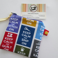 SALE Keep Calm  Purse